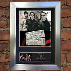 U2 Signed Autograph Mounted Photo With Ticket Reproduction A4 Print no199