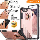 Luxury Ring Kickstand Hard Protective Case Cover for Apple iPhone 7 6S 6 Plus