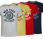 TOMMY HILFIGER MEN'S FINN TEE/T SHIRT S/M/L/XL/XXL SLIM FIT UK NEW