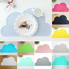 Cute Silicone Cloud Insulation Kitchen Placemat Pad Tablewear Dining Mat Coaster