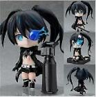"New Nendoroid 106 Black Rock Shooter 4"" 10cm Anime PVC Figure Toy Gift"