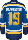 Jay Bouwmeester St Louis Blues Reebok Premier Home Jersey NHL Replica