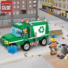 City Series garbage cleaning vehicle 196pcs No Box Fit lego 1110