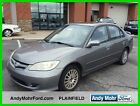 Honda: Civic Ex Used 05 Honda Civic Ex 1.7l I4 Auto Fwd Sedan Sunroof Gray Cloth Cheap Reserve