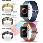 Woven Nylon Fitness Replacement Band Wrist Strap For Apple Watch 38mm/42mm