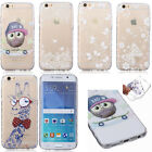 Ultra Thin Case Back Cover Pattern Soft TPU Silicone Rubber Skin Transparent New