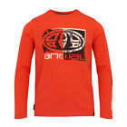 ANIMAL NEW Boy's Long Sleeved T-Shirt Red Board BNWT