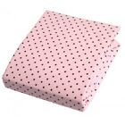 Kushies Premium Quality 100% Cotton Flannel Fitted or Top Flat Crib Sheets