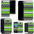 motif case cover for various Popular Mobile phones - lime green tribe