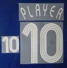 Set Flock Nameset home Trikot jersey shirt Frankreich France 2006