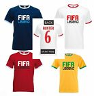 FIFA 17 T SHIRT RINGER STYLE -ALEX HUNTER T SHIRT OR CHOOSE NAME/NO XBOX ONE PS4