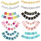 Kyпить Gold Letter Happy Birthday Banner Paper Flag Garland Birthday Party Decorations на еВаy.соm