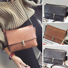 Women's Faux Leather Small Mini Shoulder bag Purse Chain Crossbody Bag Cute