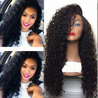 Long Kinky Curly  100% Brazilian Remy Human Hair  Lace Front/Full Lace Wigs