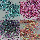 Chunky Glitter Mixes 5g, 10g, 50g  Face Eye Body Festival Clubbing Cosmetic MUA