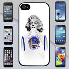New Marilyn Monroe Stephen Curry Warriors Jersey iPhone & Galaxy Case Cover