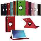 "360 Rotating PU Leather Smart Cover Case Stand fr 9.6"" Samsung Galaxy Tab E T560"