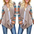 Fashion Women's Hot Irregular Sweater Cardigan Long Sleeve Casual Knit Coat