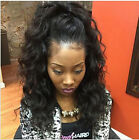 Pre Plucked 360 Full Lace Band  Frontal Closure With Straps Brazilian body wave
