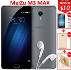 "Original MEIZU M3 Max Mobile Phone Octa core 6.0"" Fingerprint ID Dual SIM 64GB"