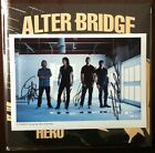 ALTER BRIDGE The Last Hero SIGNED WHITE vinyl Ltd 2 LP autographed By All photo