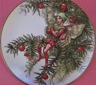 THE YEW FAIRY PLATE CICELY MARY BARKER THE FLOWER FAIRIES YEAR GRESHAM