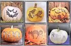 RECOLLECTIONS Halloween Pumpkin Bling Stickers - CHOOSE ONE!