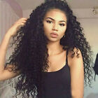 Brazlian Deep Curly  100% Brazilian Remy Human Hair  Lace Front/Full Lace Wigs