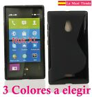 "Cover para ""Nokia Xl"" Case Gel Silicone Rear Sline 2014 Quality"