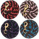 Weaver Colored Cotton Lead Ropes - 5 Colors available NEW