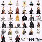 Starwars Collection Set Mini figures Storm Trooper Darth Vader Han Solo fit Lego