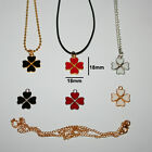 Fashion Jewelry Lucky Charm Pendant Womans Necklace Gold Or Silver