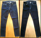 Ex H&M Ladies Skinny Jeans Navy blue & Black