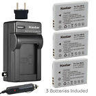 nb5l - Kastar Battery and Normal Charger Kit for Canon NB-5L
