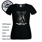 Welcome To The Merry Side T- Shirt Funny Christmas Darth Vader Tee Ladies