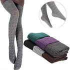 Fashion Womens Tights Knit Winter Pantyhose Tights Warm Cotton Stockings