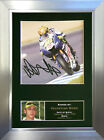VALENTINO ROSSI Signed Autograph Mounted Photo Repro A4 Print no33