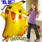 Pokemon Party Birthday Balloons table cover banner supply cupcake decoration