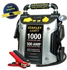 Battery Jump Starter Air Compressor Peak Portable Car Charger Booster Stanley US cheap