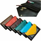 Woman Long Wallet Woman Long Purse Bill Card Slots Genuine Leather 3227A