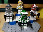 Lego Star Wars Scout Troopers Gree, Cody, Ponds