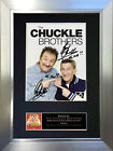 #2 CHUCKLE BROTHERS Signed Autograph Mounted Reproduction Photo A4 Print no616