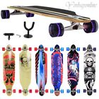 Feldus 41'' Longboard Komplett Skateboard Drop Through Holzboard Cruiser Board