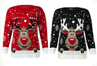 BOYS GIRLS RUDOLPH CHRISTMAS JUMPER CHILDREN KIDS RETRO VINTAGE WINTER SWEATER
