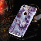 Clear Slim Shockproof Ultra-thin Prame Hard Back Case Cover for iPhone 6s 7 Plus