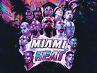 Miami Heat Team Roster 2013 Art Basketball Huge Giant Wall Print POSTER on eBay