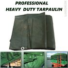 Professional Tarpaulin Heavy Duty Waterproof Cover Tarp Ground Sheet Few Sizes