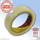 12 Rolls| 3M™ Scotch® | Parcel Packing 371 Tape | 25mm x 66m | Clear Transparent