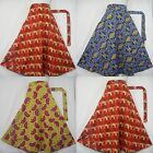 Ankara Wrap Skirt African Abstract Print Tribal Ethnic Fall Fashion Trend 1size