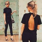 New Fashion Women's Short Sleeve Shirt Casual Blouse Loose Tops Lady T Shirt